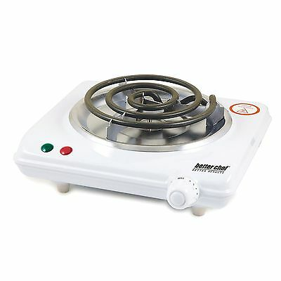 Better Chef 1000W Stainless Steel  Electric Single Burner Hot Plate Buffet