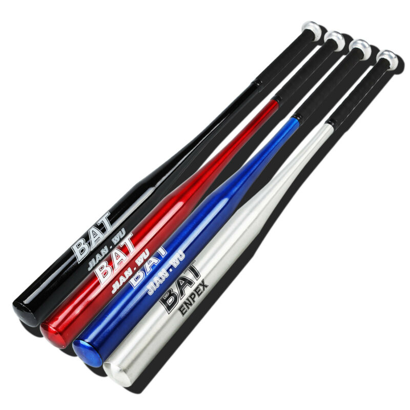 34/'/'Aluminum Alloy Youth Adult Baseball Bat Racket Softball Outdoor Sport Set