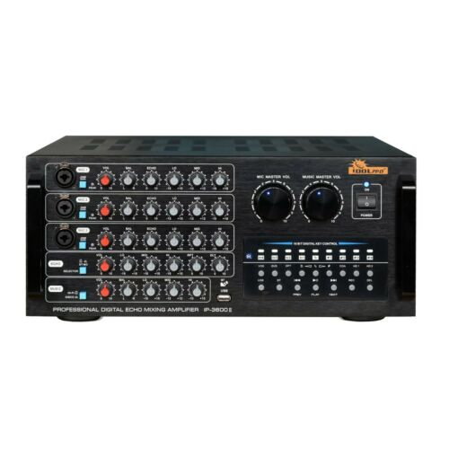 Idolpro IP-3600 II 1300W Karaoke Mixing Amplifier with Bluetooth Optical HDMI