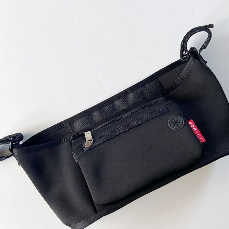 Skip Hop Grab Go Stroller Organizer Pouch Bag Removable Black