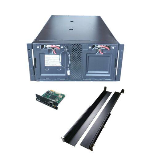 APC Smart-UPS 5000VA 4000W 208V 4-Outlets SUA5000RMT5U w/ NMC & No Bez 2017 Batt