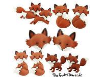 3225289d0 TFB - FUNKY FOX STUD EARRINGS Cute Retro Wild Animal Foxy Cartoon Fun  Kitsch Fun ...