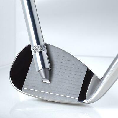 nU Groove Sharpener - Golf Club Groove Sharpener, Re-Grooving Tool and Cleane...