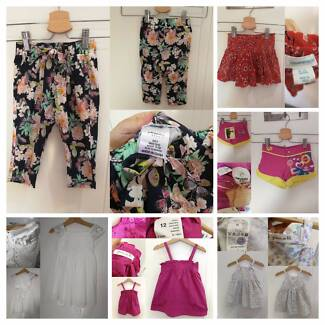 Girls Size 0 Summer Clothes