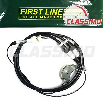 QH Rear Handbrake Cable for FORD FOCUS ST170 2.0inj 16v 2002 to 2005