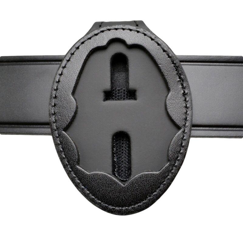 DEA Badge Holder Leather Clip On Belt Clip/Neck Hanger w/Chain Federal Police