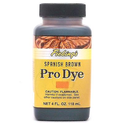 Fiebing's Professional Oil Dye Spanish Brown 4 oz (118 mL) 2110-13