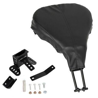 - Adjustable Driver Rider Backrest Mounting Kits Brackets For Harley Touring 09-UP