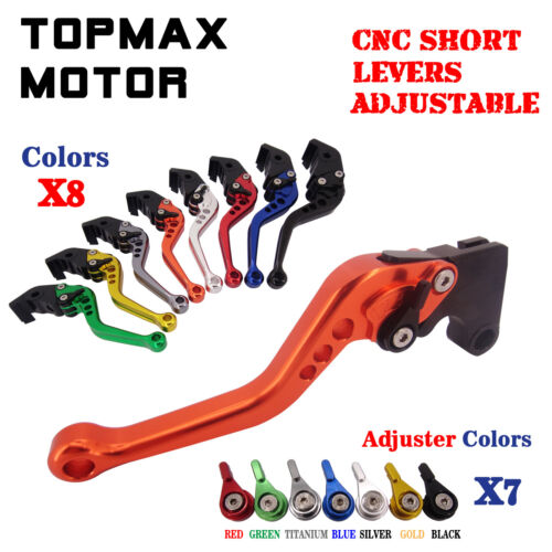 Adjustable CNC Long Brake Clutch Levers Set For Yamaha YZF-R1 04-08 YZF R6 05-14