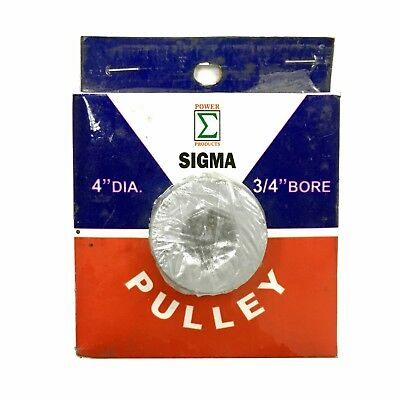 Sigma Universal Pulley 4 Diameter 34 Bore Belt A
