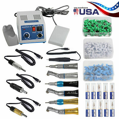 Dental Lab N3 Marathon Micromotor 35k Rpm Contra Straight Handpiece Burs Cups