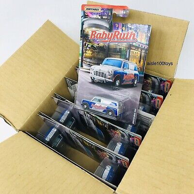Candy Cars (2019 Matchbox Candy Series Cars Austin Mini Van  BabyRuth Case Of 10 )
