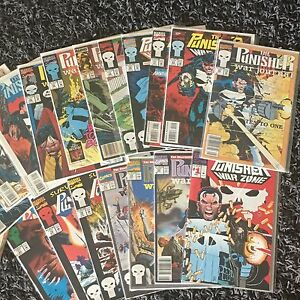 Punisher comics lot