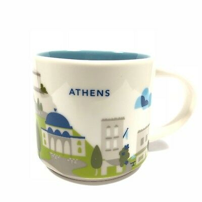 Starbucks Coffee 'You Are Here' ATHENS YAH City Mug, Greece! :)