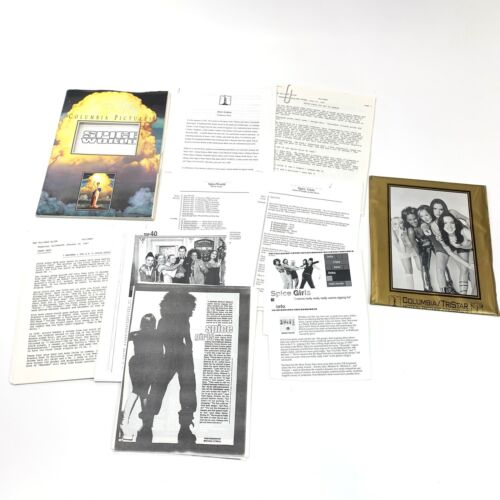 1997 SPICE WORLD Original Press kit, Photos, Production Info, Folder