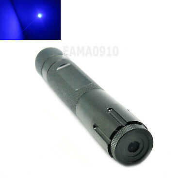 445nm 450nm Blue Focusable Waterproof Laser Pointer Led Torch 450-100-18650 Wbox