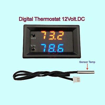 W1209k Digital Led Computer Thermostat Controller Switch Temperature Sensor 12v