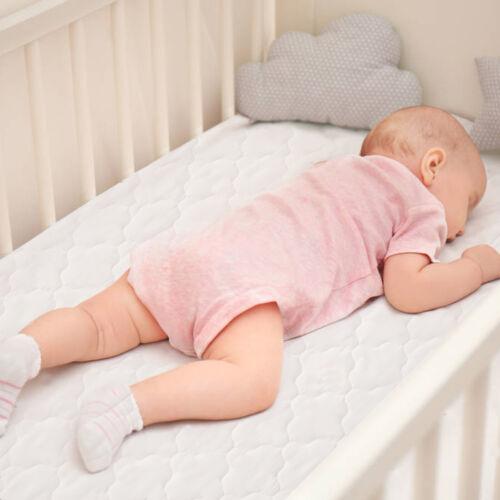 "Pack N Play Mini Crib Mattress Pad Cover Soft Cotton Surface Waterproof 39""x27"""