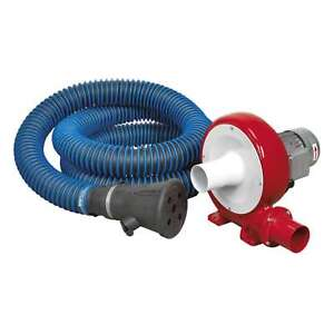 Sealey Exhaust Fume Extraction System Single Duct Exhaust Fume Extractor EFS101