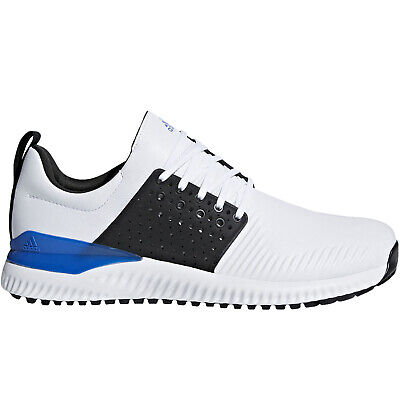 adidas Performance Mens Adicross Bounce Golf Trainers Sneakers Shoes - White
