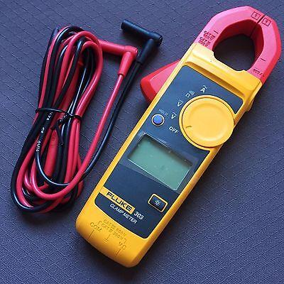 Fluke303 Digital Clamp Meter Acdc Multimeter Tester With Backlight