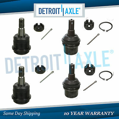 New 4pc: Front Upper & Lower Ball Joint Kit for Dodge Ram 2500 & 3500 Dana 60