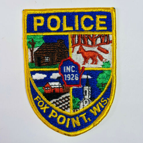 Fox Point Police Wisconsin Patch