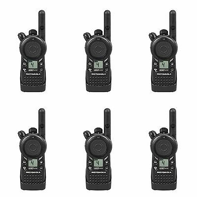 6 Motorola Cls1410 Uhf Two-way Radios Rebate For A Free Multi-unit Charger