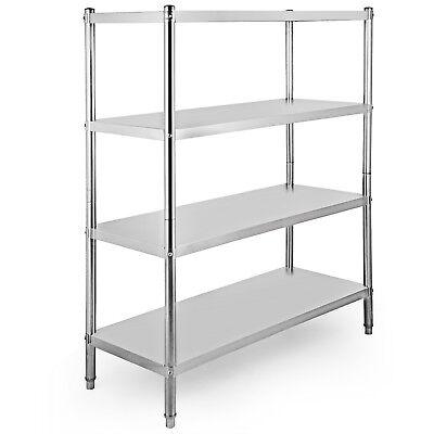 4 Level Adjustable Heavy Duty Shelves Unit Garage Shelf Steel Metal Storage Rack