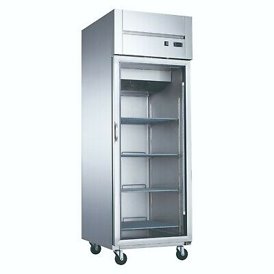 Top Mount Glass Door Refrigerator Cooler Merchandiser Dukers D28ar-gs1 New 2015
