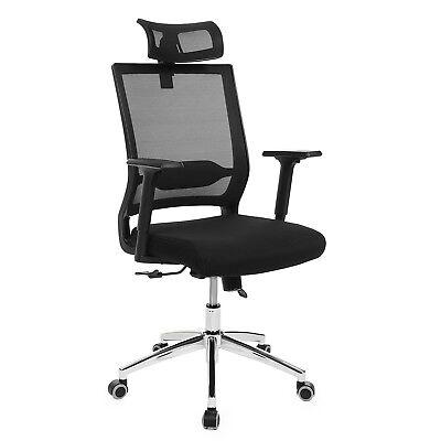 Bürostuhl chefsessel racer gamer pc stuhl Kopfstütze arretierbar chair OBN85B