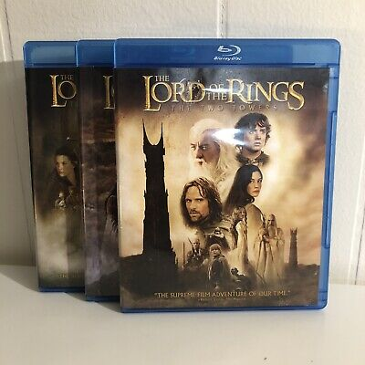 The Lord of the Rings: Trilogy Blu Ray/DVD