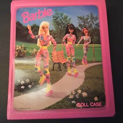 Barbie 1994 Doll case and Fashion Dresses,Shoes,Boots and Accessories Closet!