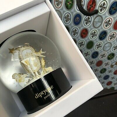 DIPTYQUE Snow Globe LUCKY CHARMS Holiday Christmas 2019 Limited Edition ()