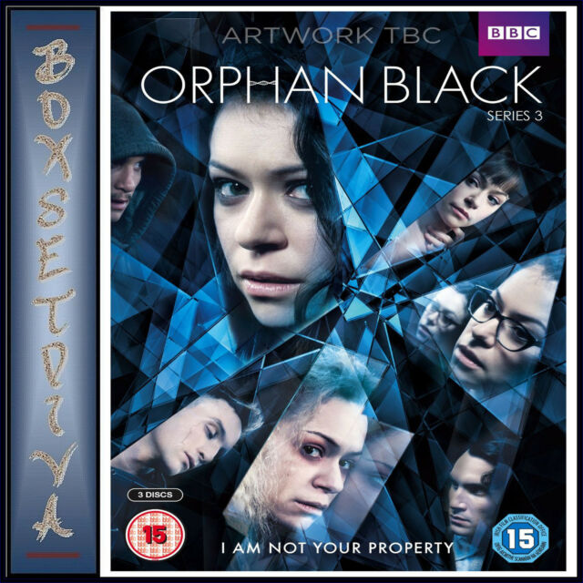 ORPHAN BLACK - COMPLETE SERIES 3  *BRAND NEW DVD***