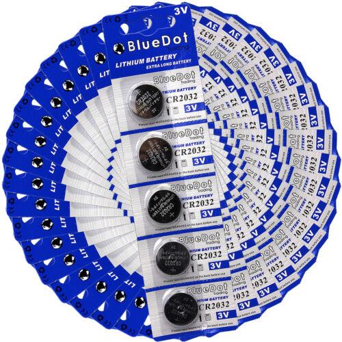 100 × CR2032 IN BULK DL2032 ECR2032 ECR2032 LM2032 2032 KCR2032 Lithium Battery