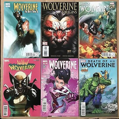 WOLVERINE Variant Lot Death Of Best There Is Origins All-New 1 2 14 315