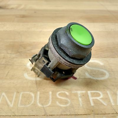 Westinghouse Green Push Button With PB1A Normally Open Contact - USED