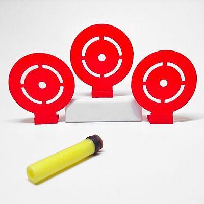3  Flip Down Target  Set Of 3  For Nerf Toy Foam Soft Dart Guns