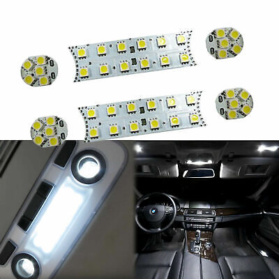 6pcs 52-SMD LED Interior Lights Direct Fit BMW 1 3 5 M Series E87 E90 E60
