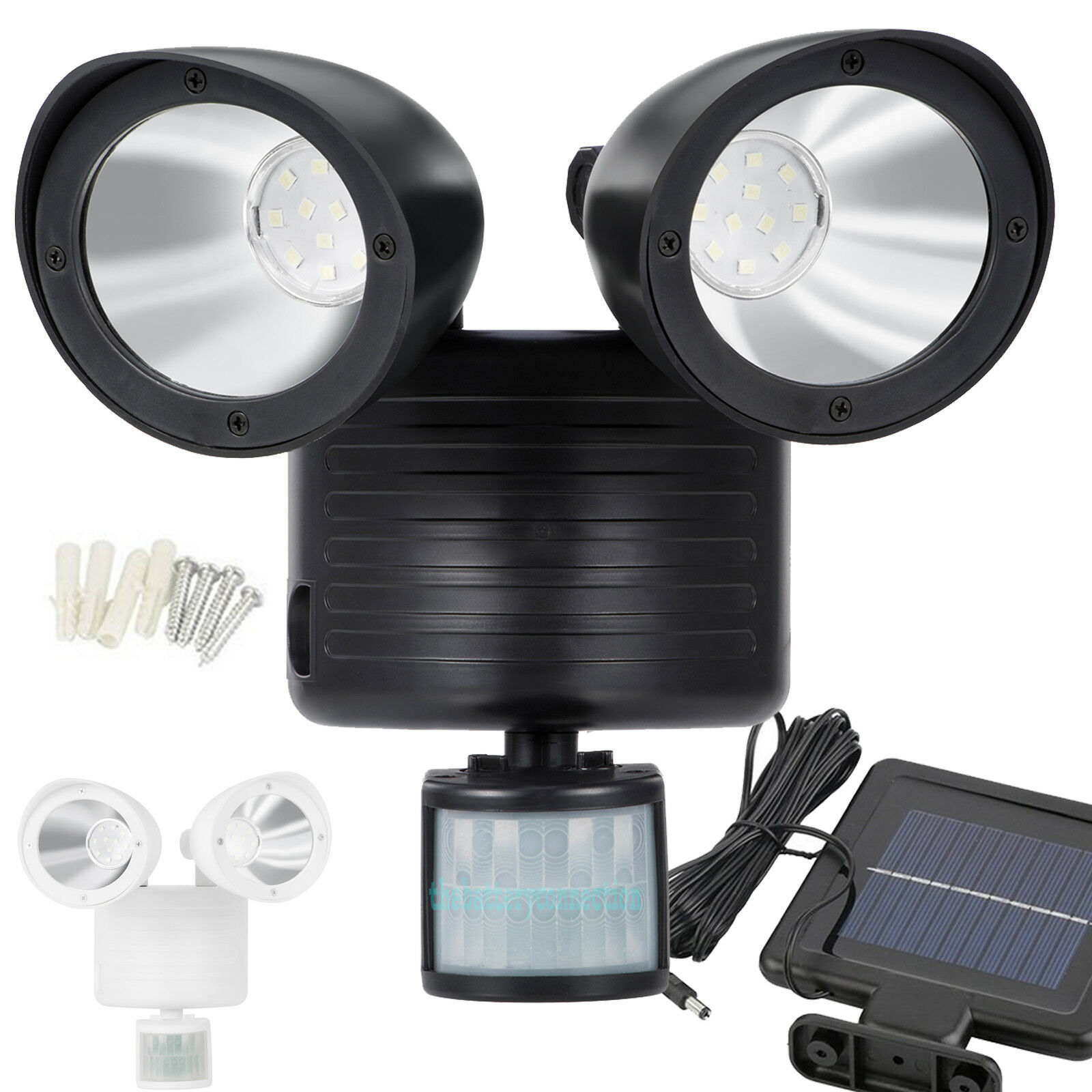 Dual Security Detector Solar Spot Light Motion Sensor Outdoor 22 LED Floodlight Home & Garden