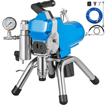 Commercial High Pressure Airless Spray Paint Gun Sprayer Spraying Machine 110v