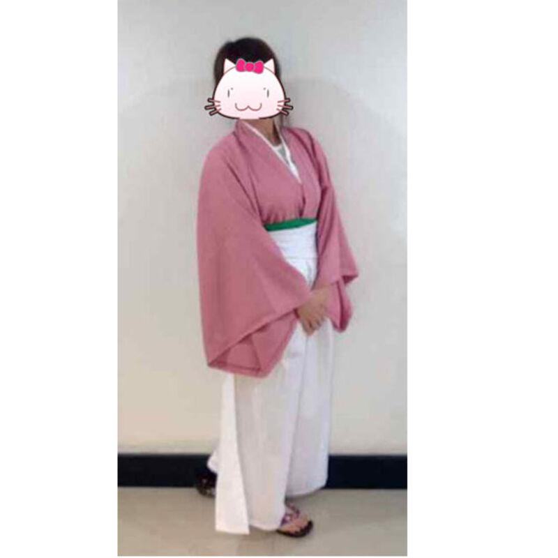 Hakuouki Yukimura Chizuru kimono Halloween Cosplay Costume size LARGE