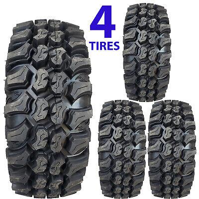 New Set of 4 Mini Truck Tires Super Grip K-9 8ply DOT street legal Mud Grip