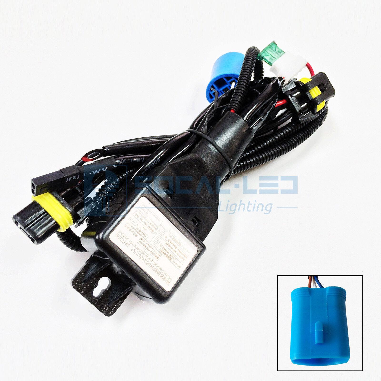 HID Relay Harness 9007 (9004) 35W/55W Bi-Xenon Hi/Lo H/L Wiring Controller  Kit | eBayeBay
