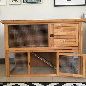 Two Storey Rabbit / Chicken Hutch plus free Hay! Summer Hill Ashfield Area Preview