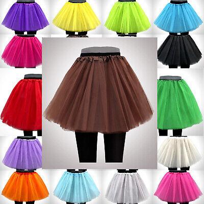 BRAUN Tütü Tutu Ballettrock Tüllrock Petticoat Paket Rock Fasching  3-5 Lagen!!! - Erwachsenen Ballett-tutu