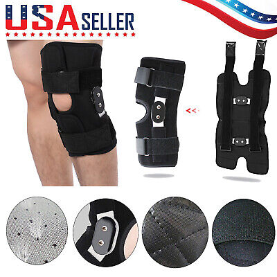 Best Medical Hinged Knee Brace Adjustable Open Patella Support for Swollen