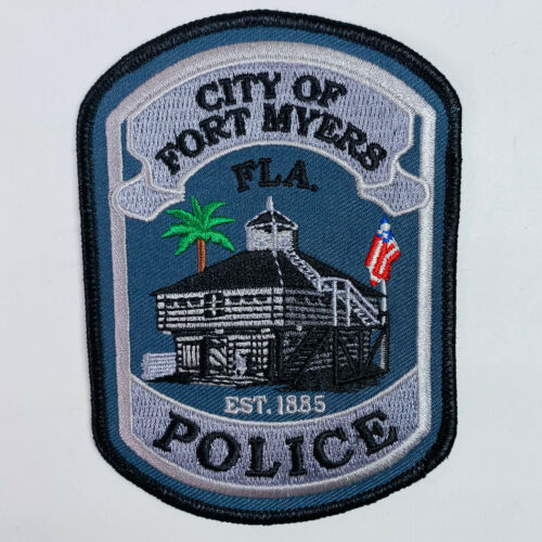 Fort Myers Police Lee County Florida FL Patch (A6)
