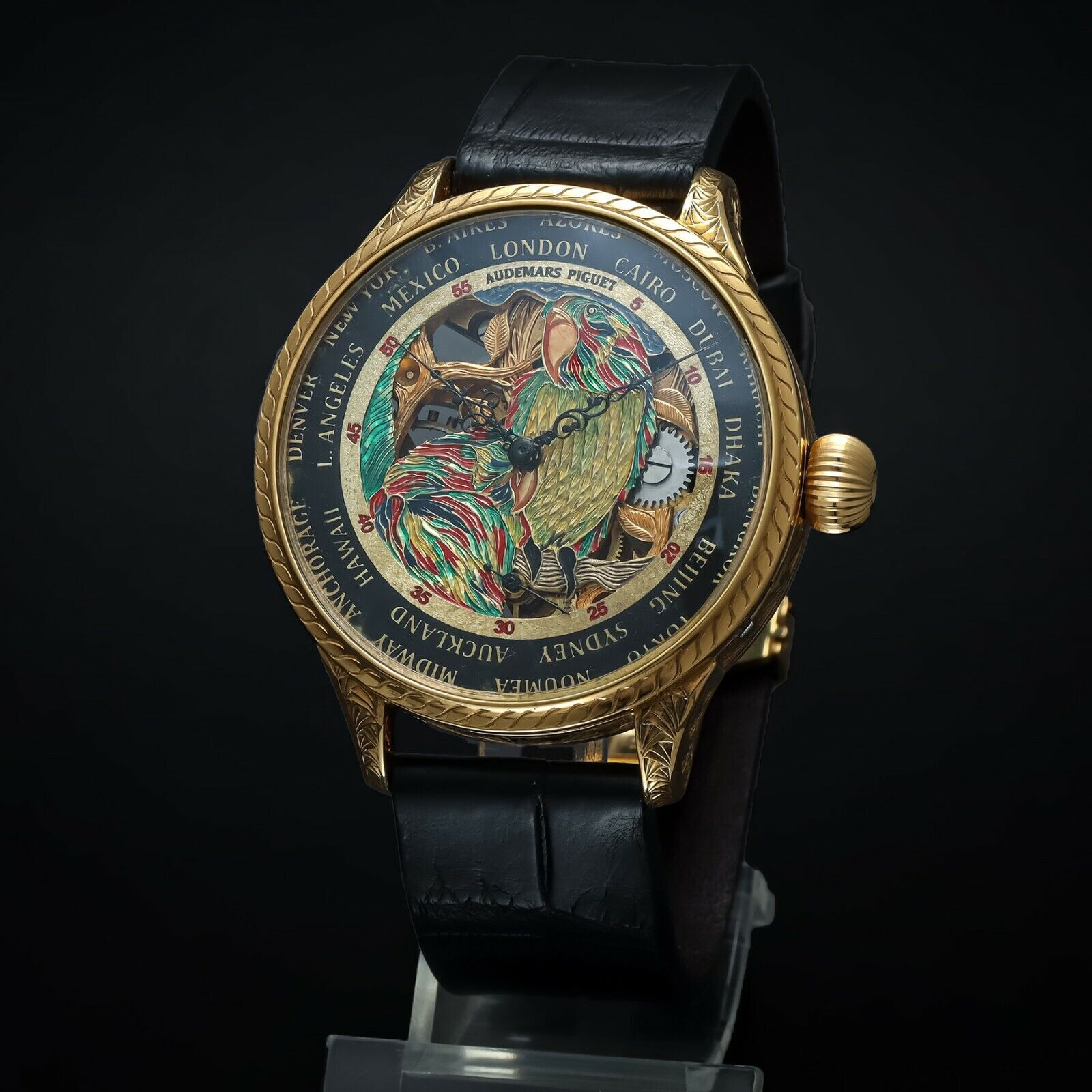 Luxury Audemars Piguet Skeleton Mens Wristwatch based on Vintage Movement - watch picture 1